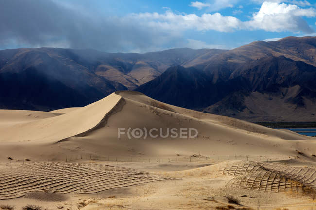 Сцени річки Тибет - Лхока Ярроу - Зангбо — стокове фото