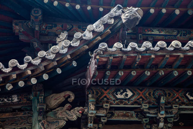 Alter jinci-tempel, taiyuan, shanxi, china — Stockfoto