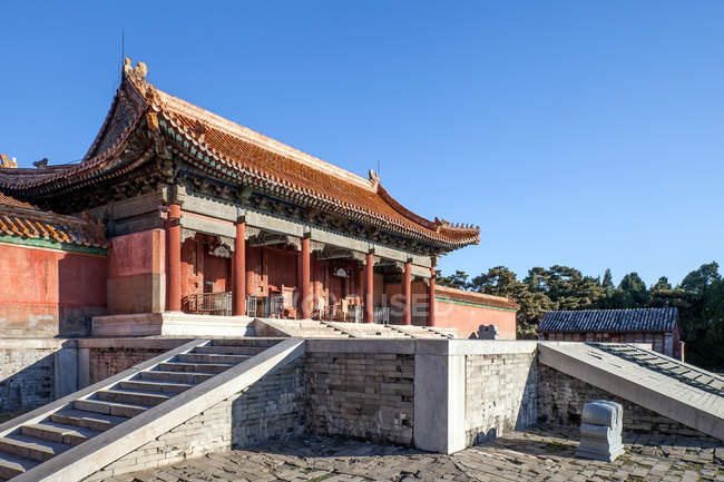 Famous Ancient Eastern Qing tombs, Zunhua, Hebei, China — Stock Photo