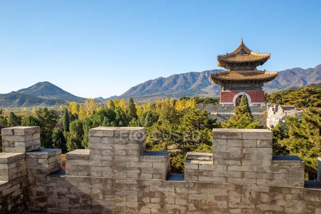 Древні могили Східного Цин, Zunhua, Хебей, Китай — стокове фото