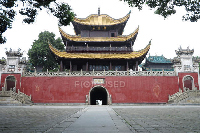 Ancienne tour Yueyang, Yueyang, Hunan, Chine — Photo de stock