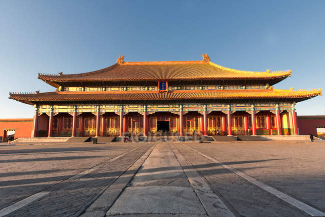 Amazing traditional asian architecture of Imperial Palace, China — Stock Photo