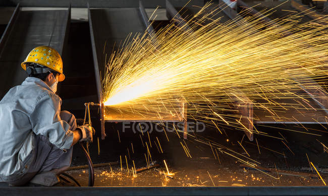 Factory interior of Chongqing City, China — Stock Photo