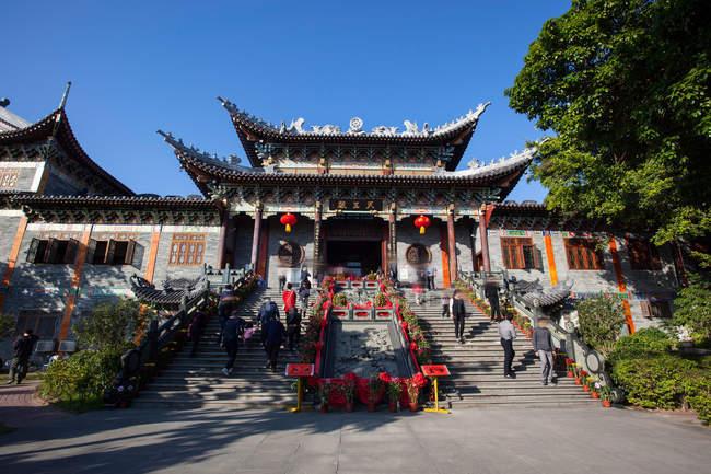 Yamadera do leste da cidade de Dapeng na cidade de Shenzhen, província de Guangdong, China — Fotografia de Stock