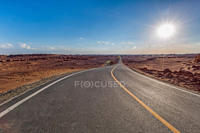 Yardang National Geological Park of Dunhuang City, Gansu province, China — Stock Photo