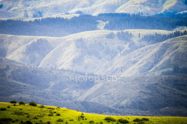 Paesaggio della contea di Aba, provincia del Sichuan, Cina — Foto stock