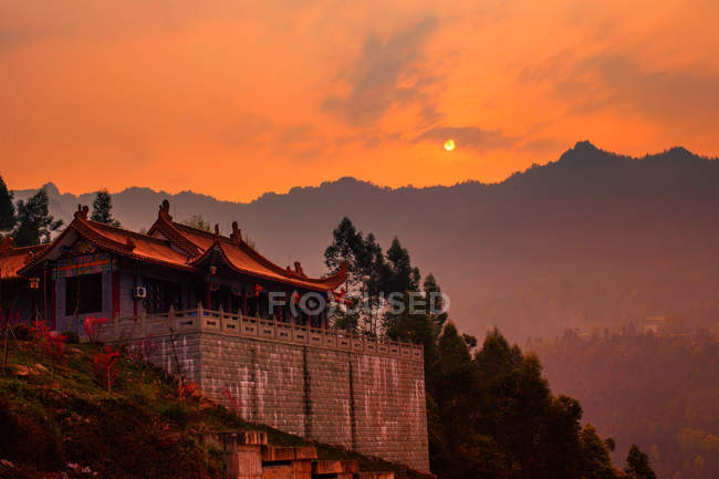 Jiangjin West Shaolin Temple, Chongqing, Chine — Photo de stock