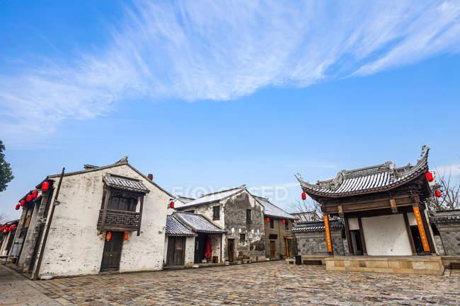 Ancient town, Wuxi, Jiangsu Province, China — Stock Photo