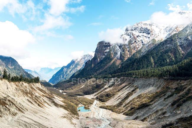 Schöne Landschaft in Sichuan Provinz, Hailuogou Landschaft, China — Stockfoto