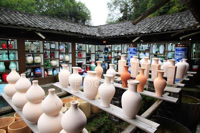 Jingdezhen Ceramic Museum of Jiangxi Province — Stock Photo