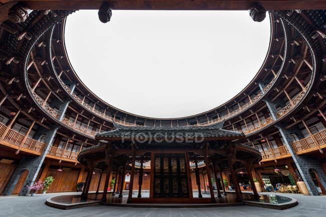 Ancienne ville, Luodai, Chengdu, province du Sichuan, Chine — Photo de stock