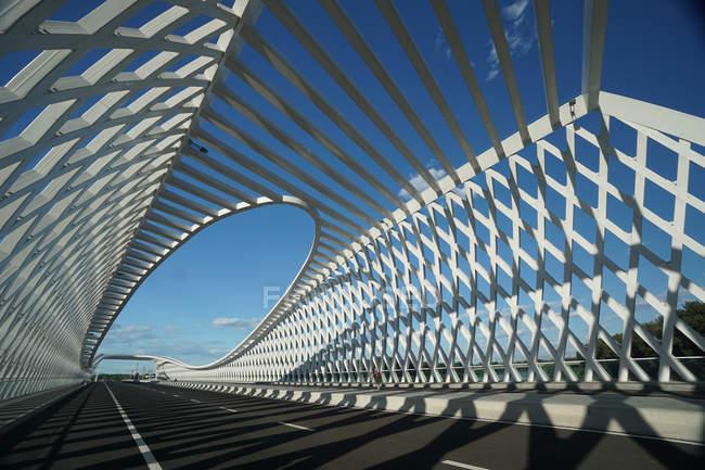 Архитектура знаменитого Пекинского моста Чанпин Шэньхуа — стоковое фото
