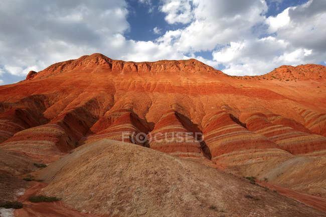 Amazing Landforms of Danxia, Gansu Province, China — Stock Photo