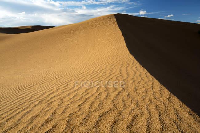 Beautiful desert scenery of Inner Mongolia, China — Stock Photo