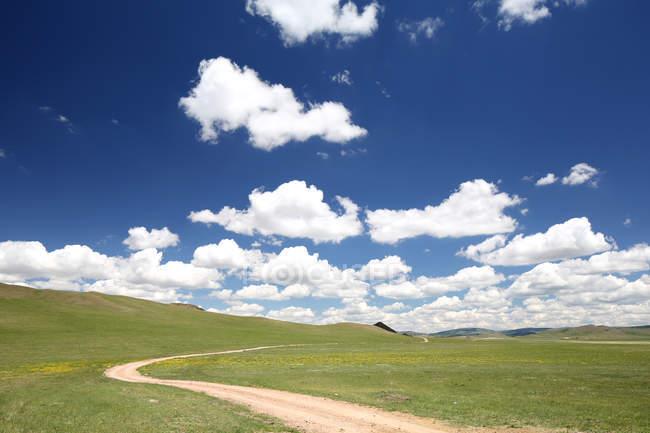 Хулун Буир Грассленд, Внутренняя Монголия, Китай — стоковое фото