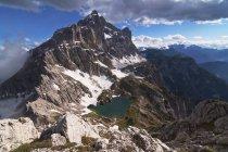 Чиветта Маунт, Доломит, Беллуно, Венето, Италия — стоковое фото