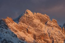 Punta Nera (Sorapis Group), Ampezzo Dolomites, Cortina d'Ampezzo, Veneto, Italy — Stock Photo