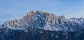Северо-западная стена Чиветта, Доломит, Агордино, Венето, Италия — стоковое фото