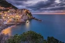 Manarola, Cinque Terre, UNESCO World Heritage Site, Ligury, Italy, Europe — Stock Photo