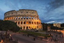 Colosseum, UNESCO World Heritage Site, Rome, Lazio, Italy, Europe — Stock Photo