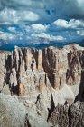Sella group, Dolomites mountain, Veneto, Italy, Europe — Stock Photo