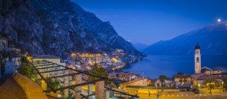 Limone sul Garda, Lago di Garda, Lombardia — Foto stock