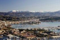 Paesaggio urbano, La Spezia, Liguria, Italia, Europa — Foto stock
