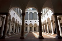 Palazzo Ducale courtyard, Genoa, Ligury, Italy — Stock Photo