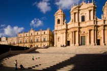 Cattedrale di San Nicol cathedral, Noto, Sicily, Italy, Europe — Stock Photo