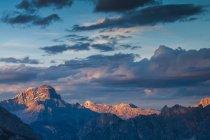 Picco di Vallandro, Cresta Bianca de Giau Pass, Dolomites, Veneto, Italie — Photo de stock