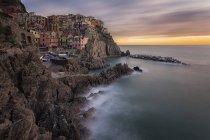 Manarola, Cinque Terre, Italy, Ligury, Europe — Stock Photo