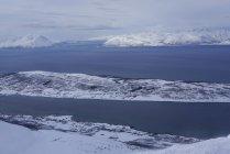 Lyngen Alps, penisola di Lyngen, contea di Troms, Norvegia, Europa — Foto stock