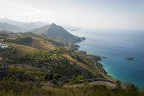 Coast near Maratea, Basilicata, Italy, Europe — Stock Photo