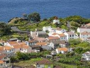Village Ribeiras. Піко острів, острів в Азорських островах (Ilhas DOS Адонов) в Атлантичному океані. Азорські острови — автономна область Португалії. Європа, Португалія, Азорські острови — стокове фото