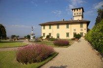 Belvedere garden,  Villa La Petraia is one of the Medici villas, 14th century, Florence, Tuscany, Italy, Europe — Stock Photo