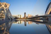 Ciutat de les Arts i les Cincies, Valencia, Spain, Europe — Stock Photo