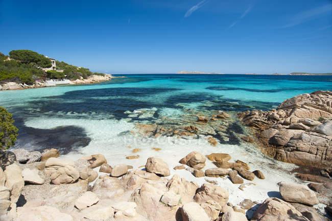 Capriccioli, Costa Smeralda, Arzachena, Sardinia, Italy, Europe — Stockfoto