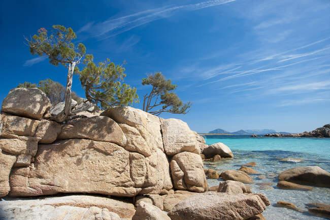 Capriccioli, Costa Smeralda, Arzachena, Sardegna, Italia, Europa — Foto stock