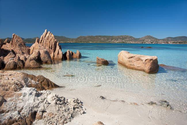 Isola Piana, Loiri Porto San Paolo, Sardegna, Italia, Europa — Foto stock