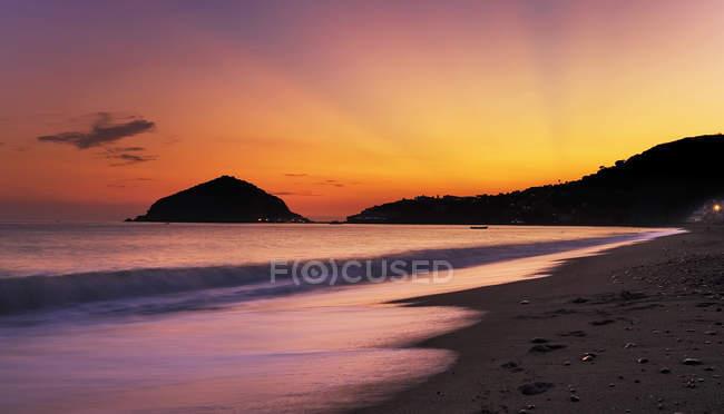 Maronti beach,Ischia,Campania,Italy,Europe. — Stock Photo