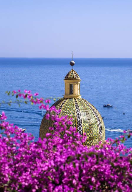 Landschaft, Positano, Amalfiküste, Kampanien, Italien, Europa — Stockfoto
