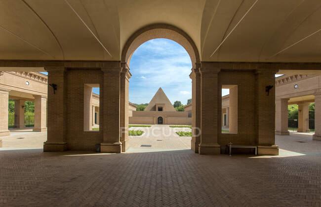 Labirinto della Masone labyrinth,Fontanellato,Parma,Emilia Romagna, Italy — Stock Photo