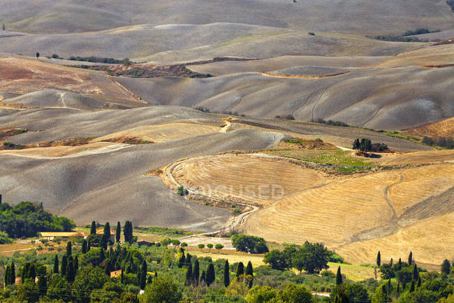 Countryside around Volterra,Tuscany, Italy, Europe - foto de stock