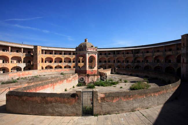 Prison de Santo Stefano, île de Ventotene, Lazio (Italie) — Photo de stock