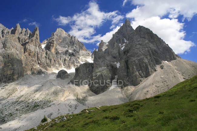 Pale di S. Martino, Dolomiti, Italy, Il Cimon della Pala — стокове фото