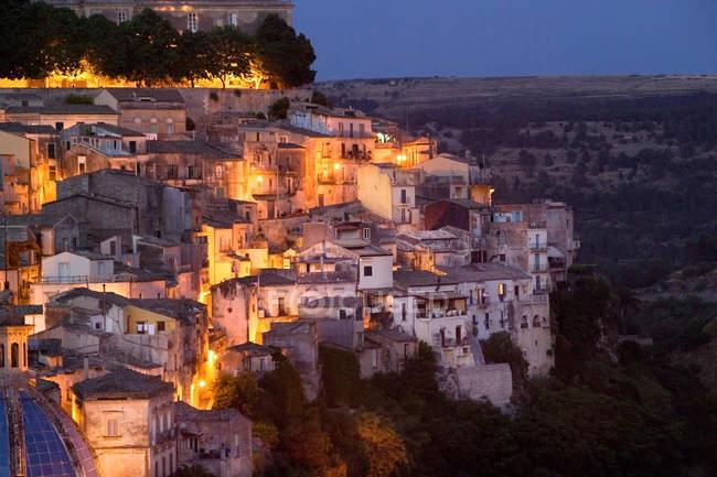 Ragusa Ibla, Ragusa Superiore, provincia di Ragusa, Sicilia, Italia, Europa — Foto stock