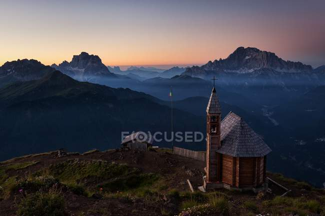 Col di Lana, Dolomites, Livinnalongo, Veneto, Italie — Photo de stock