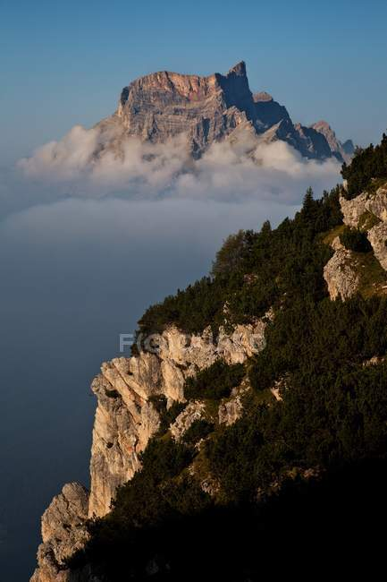 Mont Pelmo, Dolomites, San Vito di Cadore, Belluno, Veneto, Italie — Photo de stock