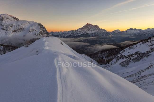 Pore Mount, Colle Santa Lucia, Dolomites, Veneto, Italie — Photo de stock