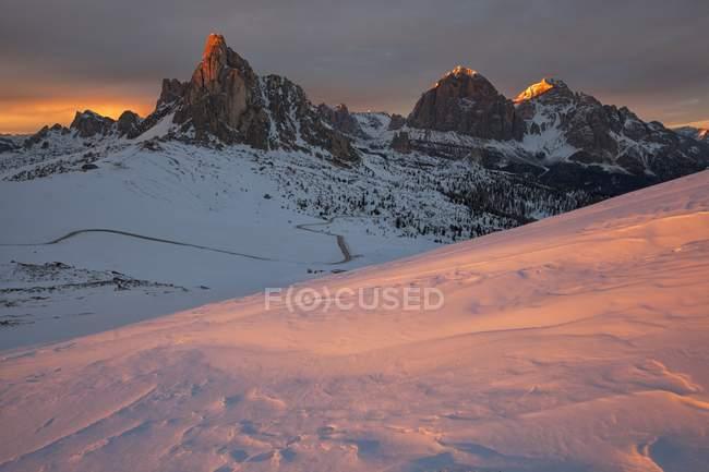 Col Piombin, Passo Giau, Dolomiti, Veneto, Italia — Foto stock